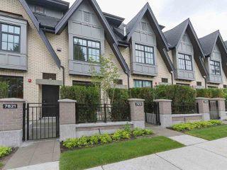 "Main Photo: 7819 OAK Street in Vancouver: Marpole Townhouse for sale in ""OAK + PARK"" (Vancouver West)  : MLS®# R2376537"
