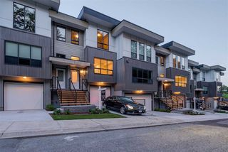 "Photo 1: 9 36130 WATERLEAF Place in Abbotsford: Abbotsford East Townhouse for sale in ""Vantage South"" : MLS®# R2375309"