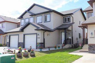 Photo 2: 15160 33 Street in Edmonton: Zone 35 House Half Duplex for sale : MLS®# E4162010