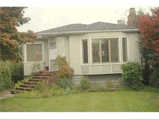 Photo 1: 2875 ALAMEIN Ave in Vancouver West: Home for sale : MLS®# V1050320