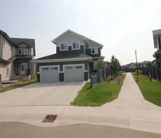 Photo 1: 8128 GOURLAY Place in Edmonton: Zone 58 House for sale : MLS®# E4186769