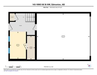 Photo 34: 143 16903 68 Street NW in Edmonton: Zone 28 Townhouse for sale : MLS®# E4194242