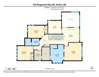 Photo 39: 579 Kingsmere Way SE: Airdrie Detached for sale : MLS®# A1045570