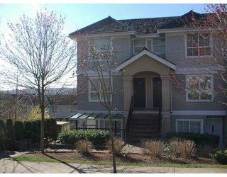 "Photo 1: 140 1408 CARTIER AV in Coquitlam: Maillardville Townhouse for sale in ""LA GALERIE"" : MLS®# V580979"