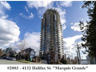"Photo 20: 2003 4132 HALIFAX Street in Burnaby: Brentwood Park Condo for sale in ""Marquis Grande"" (Burnaby North)  : MLS®# V1090872"