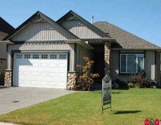 "Photo 1: 27967 BUFFER CR in Abbotsford: Aberdeen House for sale in ""West Abbotsford Station"" : MLS®# F2517088"