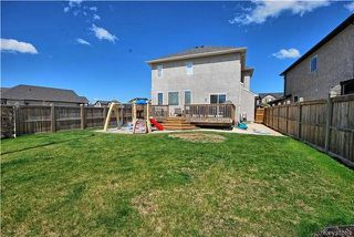 Photo 20: 6 Red Lily Road in Winnipeg: Sage Creek Residential for sale (2K)  : MLS®# 1713010