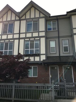 "Photo 1: 13 9566 TOMICKI Avenue in Richmond: West Cambie Townhouse for sale in ""WISHING TREE"" : MLS®# R2269594"
