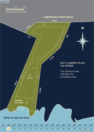 Photo 5: Lot 2 Lighthouse Point Rd in SHIRLEY: Sk Sheringham Pnt Land for sale (Sooke)  : MLS®# 798348