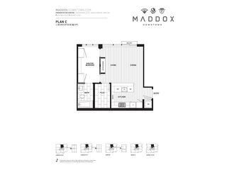 "Photo 19: 1501 1351 CONTINENTAL Street in Vancouver: Downtown VW Condo for sale in ""MADDOX"" (Vancouver West)  : MLS®# R2319280"