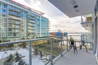 "Main Photo: 302 175 VICTORY SHIP Way in North Vancouver: Lower Lonsdale Condo for sale in ""Cascade at The Pier"" : MLS®# R2338575"