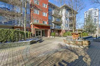 "Main Photo: 204 3250 ST JOHNS Street in Port Moody: Port Moody Centre Condo for sale in ""The SQUARE"" : MLS®# R2338954"