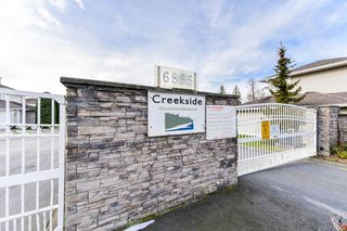 "Photo 20: 61 6885 184 Street in Surrey: Cloverdale BC Townhouse for sale in ""CREEKSIDE"" (Cloverdale)  : MLS®# R2339507"