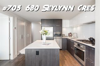 "Photo 1: 705 680 SEYLYNN Crescent in North Vancouver: Northlands Condo for sale in ""Compass at Seylynn"" : MLS®# R2359687"