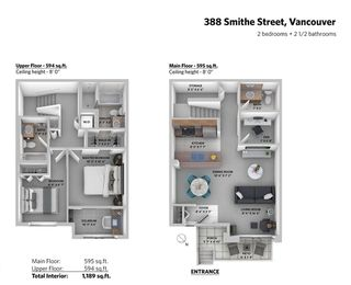 "Photo 16: 388 SMITHE Street in Vancouver: Yaletown Townhouse for sale in ""YALETOWN PARK"" (Vancouver West)  : MLS®# R2361478"