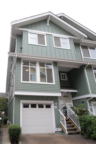 """Main Photo: 109 935 EWEN Avenue in New Westminster: Queensborough Townhouse for sale in """"COOPERS LANDING"""" : MLS®# R2398197"""