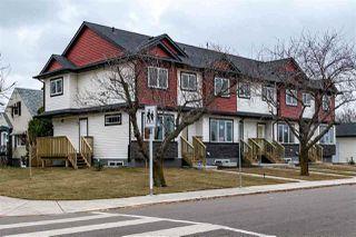 Main Photo: 10205 114 Avenue in Edmonton: Zone 08 Townhouse for sale : MLS®# E4186986