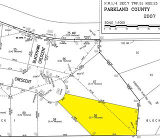 Photo 3: 58 25527 TWP RD 511A Road: Rural Parkland County Rural Land/Vacant Lot for sale : MLS®# E4191645