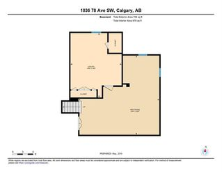 Photo 33: 1036 78 Avenue SW in Calgary: Chinook Park Detached for sale : MLS®# C4299058