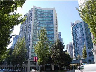 Photo 1: B1201 1331 HOMER Street in Vancouver: Yaletown Condo for sale (Vancouver West)  : MLS®# V970137
