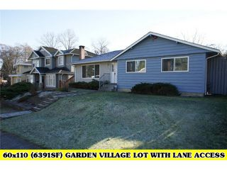 Photo 1: 4376 PINEWOOD Crescent in Burnaby: Garden Village House for sale (Burnaby South)  : MLS®# V1037956