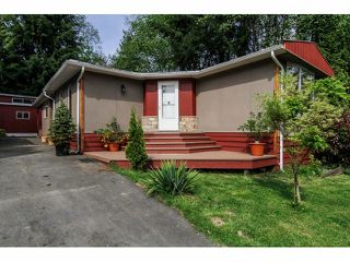 "Photo 1: 38 10221 WILSON Street in Mission: Stave Falls Manufactured Home for sale in ""TRIPLE CREEK ESTATES"" : MLS®# F1411178"