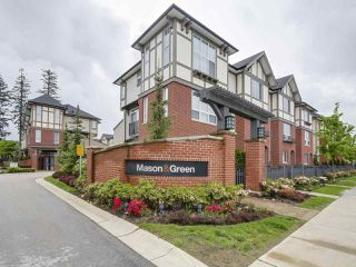 "Photo 1: 19 7848 209 Street in Langley: Willoughby Heights Townhouse for sale in ""MASON & GREEN"" : MLS®# R2168191"