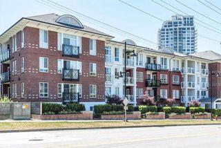Photo 1: 213 618 COMO LAKE Avenue in Coquitlam: Coquitlam West Condo for sale : MLS®# R2195456