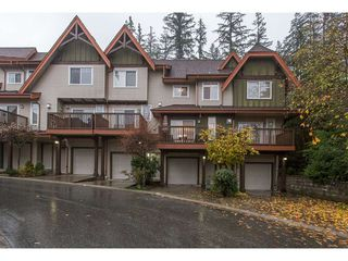 "Photo 1: 132 2000 PANORAMA Drive in Port Moody: Heritage Woods PM Townhouse for sale in ""MOUNTAINS EDGE"" : MLS®# R2223784"