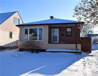Photo 1: 459 Radford Street in Winnipeg: Sinclair Park Residential for sale (4C)  : MLS®# 1802598
