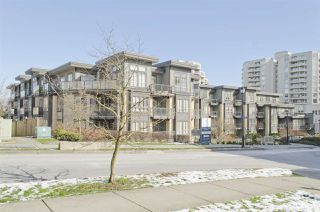 """Photo 1: 117 225 FRANCIS Way in New Westminster: Fraserview NW Condo for sale in """"WHITTAKER"""" : MLS®# R2241598"""