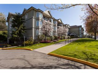 "Photo 1: 104 20881 56 Avenue in Langley: Langley City Condo for sale in ""Robert's Court"" : MLS®# R2260897"