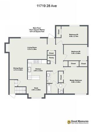 Photo 30: 11719 28 Avenue in Edmonton: Zone 16 House for sale : MLS®# E4152163