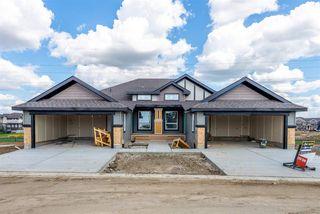 Photo 2: 2 8050 Orchards Green in Edmonton: Zone 53 House Half Duplex for sale : MLS®# E4161869