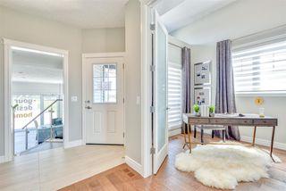 Photo 3: 2 8050 Orchards Green in Edmonton: Zone 53 House Half Duplex for sale : MLS®# E4161869