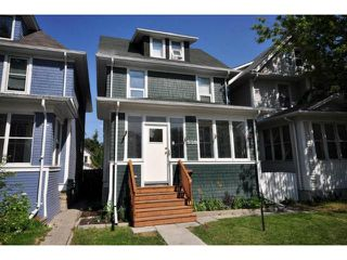 Photo 1: 539 Camden Place in WINNIPEG: West End / Wolseley Residential for sale (West Winnipeg)  : MLS®# 1214524