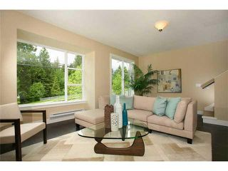 """Photo 2: 1 1299 COAST MERIDIAN Road in Coquitlam: Burke Mountain Townhouse for sale in """"BREEZE RESIDENCE"""" : MLS®# V1027558"""