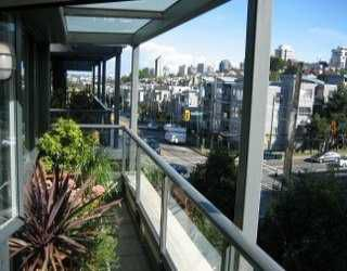 """Photo 6: 1425 W 6TH Ave in Vancouver: False Creek Condo for sale in """"PORTICO"""" (Vancouver West)  : MLS®# V621662"""