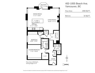 Photo 20: 402 1005 BEACH AVENUE in Vancouver: West End VW Condo for sale (Vancouver West)  : MLS®# R2403390