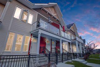 Main Photo: 131 AUBURN MEADOWS Walk SE in Calgary: Auburn Bay Row/Townhouse for sale : MLS®# A1019905