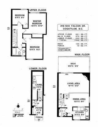 """Photo 3: 18 1240 FALCON Drive in Coquitlam: Upper Eagle Ridge Townhouse for sale in """"FALCON RIDGE"""" : MLS®# R2518675"""