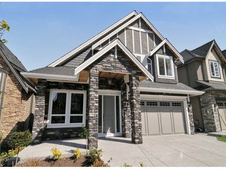 Photo 1: 2726 163A ST in Surrey: Grandview Surrey House for sale (South Surrey White Rock)  : MLS®# F1409490