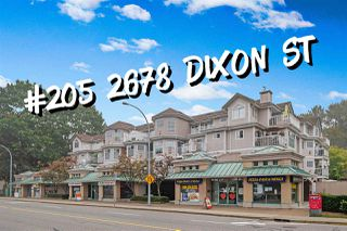 "Main Photo: 205 2678 DIXON Street in Port Coquitlam: Central Pt Coquitlam Condo for sale in ""SPRINGDALE"" : MLS®# R2510265"
