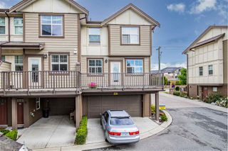 "Photo 1: 5 33860 MARSHALL Road in Abbotsford: Central Abbotsford Townhouse for sale in ""Marshall Mews"" : MLS®# R2528365"
