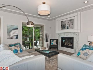 """Photo 3: 1 1434 EVERALL Street: White Rock Townhouse for sale in """"Evergreen Pointe"""" (South Surrey White Rock)  : MLS®# F1214067"""