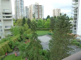 """Photo 6: 608 4165 MAYWOOD Street in Burnaby: Metrotown Condo for sale in """"PLACE ON THE PARK"""" (Burnaby South)  : MLS®# V1007451"""