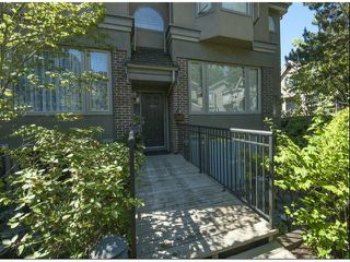 "Photo 1: 1534 BEST Street: White Rock Townhouse for sale in ""The Courtyards"" (South Surrey White Rock)  : MLS®# F1316341"