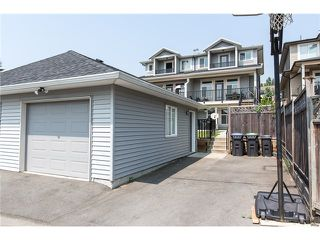 Photo 20: 1500 SIXTH AV in New Westminster: Uptown NW House 1/2 Duplex for sale : MLS®# V1132853