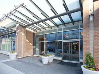 Photo 2: 1403 608 BELMONT STREET in New Westminster: Uptown NW Condo for sale : MLS®# R2149699