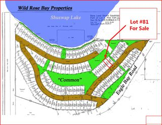 Photo 1: 81 6421 Eagle Bay Road in Eagle Bay: WILD ROSE BAY Vacant Land for sale (EAGLE BAY)  : MLS®# 10205572